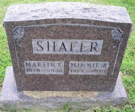 SHAFER, MINNIE B. - Ross County, Ohio | MINNIE B. SHAFER - Ohio Gravestone Photos