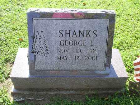 SHANKS, GEORGE L. - Ross County, Ohio | GEORGE L. SHANKS - Ohio Gravestone Photos