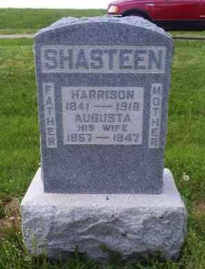 SHASTEEN, AUGUSTA - Ross County, Ohio | AUGUSTA SHASTEEN - Ohio Gravestone Photos