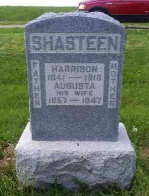 SHASTEEN, HARRISON - Ross County, Ohio | HARRISON SHASTEEN - Ohio Gravestone Photos