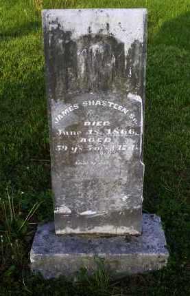 SHASTEEN, JAMES SR. - Ross County, Ohio   JAMES SR. SHASTEEN - Ohio Gravestone Photos