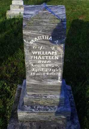 SHASTEEN, MARTHA A. - Ross County, Ohio | MARTHA A. SHASTEEN - Ohio Gravestone Photos