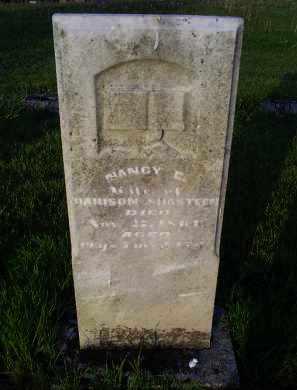 SHASTEEN, NANCY - Ross County, Ohio   NANCY SHASTEEN - Ohio Gravestone Photos