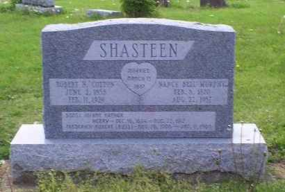 SHASTEEN, NANCY BELL - Ross County, Ohio | NANCY BELL SHASTEEN - Ohio Gravestone Photos