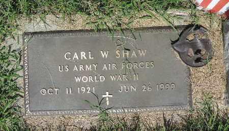 SHAW, CARL W - Ross County, Ohio | CARL W SHAW - Ohio Gravestone Photos