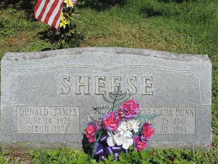 SHEESE, DONALD JAMES - Ross County, Ohio | DONALD JAMES SHEESE - Ohio Gravestone Photos