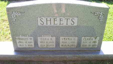 SHEETS, VERNA L. - Ross County, Ohio | VERNA L. SHEETS - Ohio Gravestone Photos