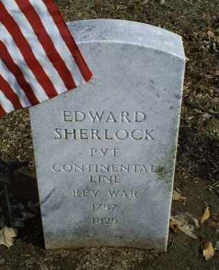 SHERLOCK, EDWARD - Ross County, Ohio | EDWARD SHERLOCK - Ohio Gravestone Photos