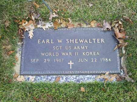 SHEWALTER, EARL W. - Ross County, Ohio | EARL W. SHEWALTER - Ohio Gravestone Photos