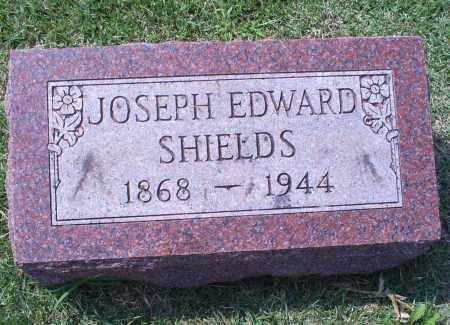 SHIELDS, JOSEPH EDWARD - Ross County, Ohio | JOSEPH EDWARD SHIELDS - Ohio Gravestone Photos