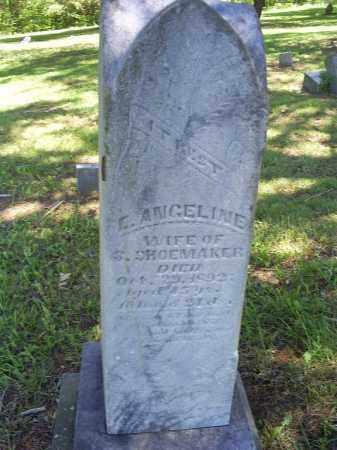 SHOEMAKER, E. ANGELINE - Ross County, Ohio | E. ANGELINE SHOEMAKER - Ohio Gravestone Photos