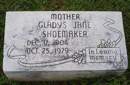 SHOEMAKER, GLADYS JANE - Ross County, Ohio | GLADYS JANE SHOEMAKER - Ohio Gravestone Photos