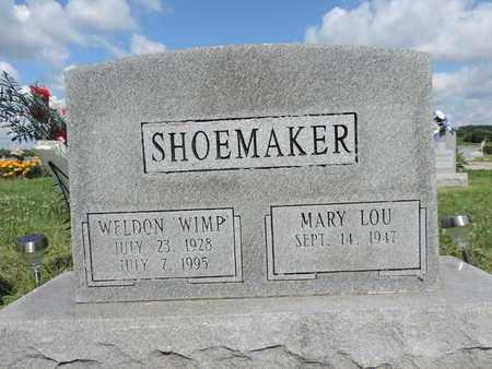 SHOEMAKER, MARY LOU - Ross County, Ohio | MARY LOU SHOEMAKER - Ohio Gravestone Photos
