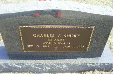 SHORT, CHARLES C. - Ross County, Ohio | CHARLES C. SHORT - Ohio Gravestone Photos