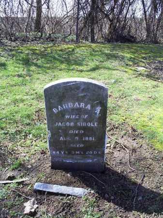 SIBOLE, BARBARA - Ross County, Ohio   BARBARA SIBOLE - Ohio Gravestone Photos