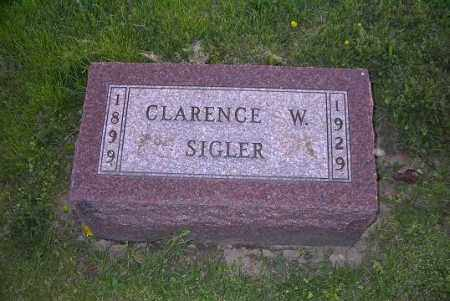 SIGLER, CLARENCE W. - Ross County, Ohio   CLARENCE W. SIGLER - Ohio Gravestone Photos