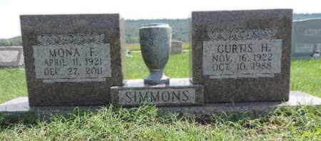 SIMMONS, CURTIS H - Ross County, Ohio | CURTIS H SIMMONS - Ohio Gravestone Photos