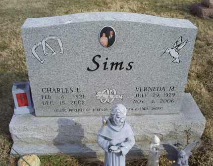 SIMS, VERNEDA M. - Ross County, Ohio   VERNEDA M. SIMS - Ohio Gravestone Photos