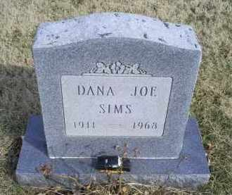 SIMS, DANA JOE - Ross County, Ohio   DANA JOE SIMS - Ohio Gravestone Photos