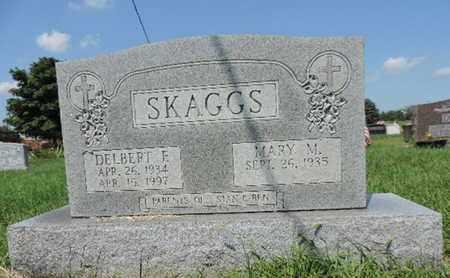 SKAGGS, DELBERT F - Ross County, Ohio | DELBERT F SKAGGS - Ohio Gravestone Photos