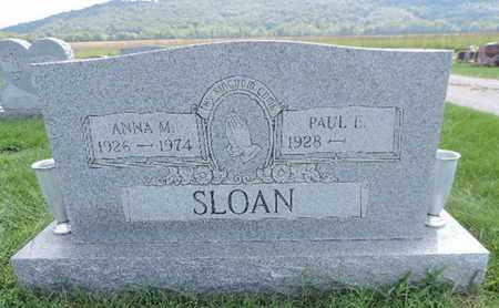 SLOAN, ANNA M - Ross County, Ohio | ANNA M SLOAN - Ohio Gravestone Photos