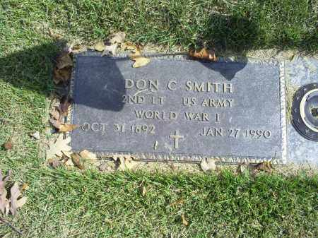 SMITH, DON C. - Ross County, Ohio   DON C. SMITH - Ohio Gravestone Photos