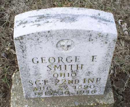 SMITH, GEORGE F. - Ross County, Ohio   GEORGE F. SMITH - Ohio Gravestone Photos