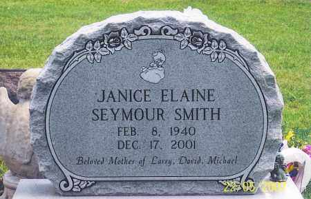 SEYMOUR SMITH, JANICE ELAINE - Ross County, Ohio | JANICE ELAINE SEYMOUR SMITH - Ohio Gravestone Photos