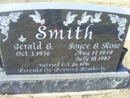 ROSE SMITH, JOYCE E. - Ross County, Ohio | JOYCE E. ROSE SMITH - Ohio Gravestone Photos