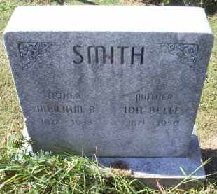 SMITH, IDA BELLE - Ross County, Ohio | IDA BELLE SMITH - Ohio Gravestone Photos