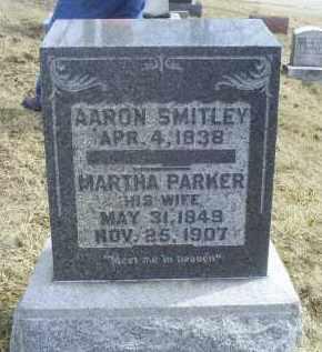 PARKER SMITLEY, MARTHA - Ross County, Ohio | MARTHA PARKER SMITLEY - Ohio Gravestone Photos