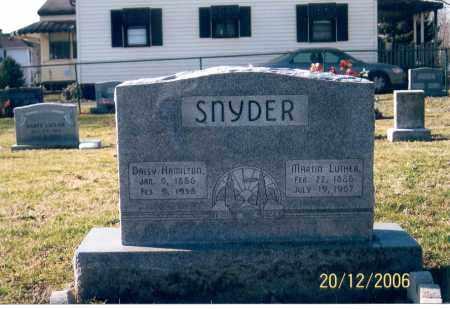 SNYDER, DAISY - Ross County, Ohio   DAISY SNYDER - Ohio Gravestone Photos