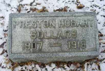 SOLLARS, PRESTON HOBART - Ross County, Ohio   PRESTON HOBART SOLLARS - Ohio Gravestone Photos