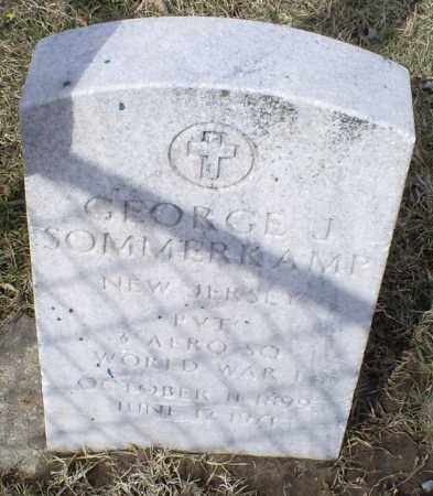 SOMMERKAMP, GEORGE J. - Ross County, Ohio | GEORGE J. SOMMERKAMP - Ohio Gravestone Photos
