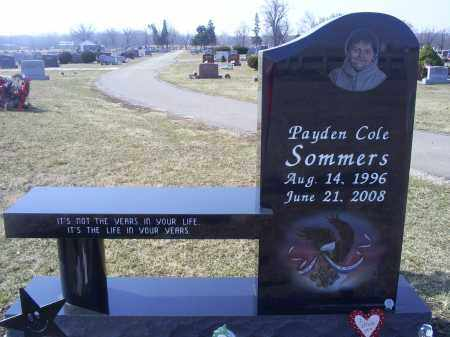 SOMMERS, PAYDEN COLE - Ross County, Ohio   PAYDEN COLE SOMMERS - Ohio Gravestone Photos