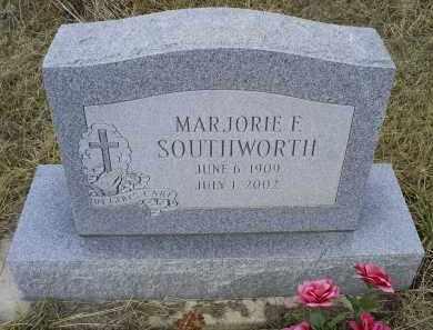 SOUTHWORTH, MARJORIE F. - Ross County, Ohio | MARJORIE F. SOUTHWORTH - Ohio Gravestone Photos