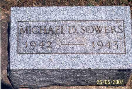 SOWERS, MICHAEL - Ross County, Ohio | MICHAEL SOWERS - Ohio Gravestone Photos