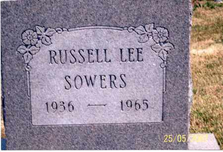 SOWERS, RUSSELL LEE - Ross County, Ohio | RUSSELL LEE SOWERS - Ohio Gravestone Photos