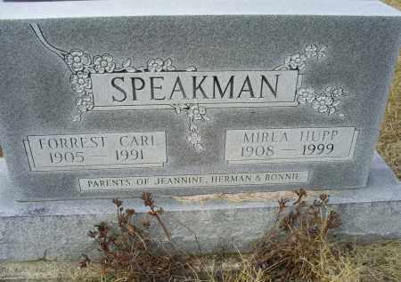 SPEAKMAN, FORREST CARL - Ross County, Ohio | FORREST CARL SPEAKMAN - Ohio Gravestone Photos