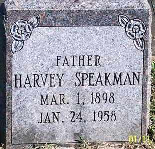 SPEAKMAN, HARVEY - Ross County, Ohio | HARVEY SPEAKMAN - Ohio Gravestone Photos