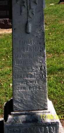 SPEAKMAN, EDWARD - Ross County, Ohio | EDWARD SPEAKMAN - Ohio Gravestone Photos