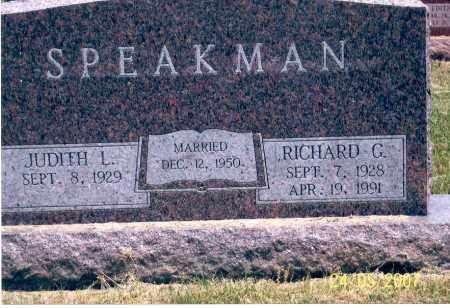 SPEAKMAN, JUDITH - Ross County, Ohio   JUDITH SPEAKMAN - Ohio Gravestone Photos