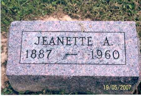SPEAKMAN, JEANETTE A. - Ross County, Ohio | JEANETTE A. SPEAKMAN - Ohio Gravestone Photos