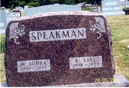 SPEAKMAN, M. AUDRA - Ross County, Ohio | M. AUDRA SPEAKMAN - Ohio Gravestone Photos