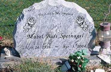 BOST SPETNAGEL, MABEL - Ross County, Ohio | MABEL BOST SPETNAGEL - Ohio Gravestone Photos
