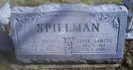 SPILLMAN, STELLA S. - Ross County, Ohio   STELLA S. SPILLMAN - Ohio Gravestone Photos