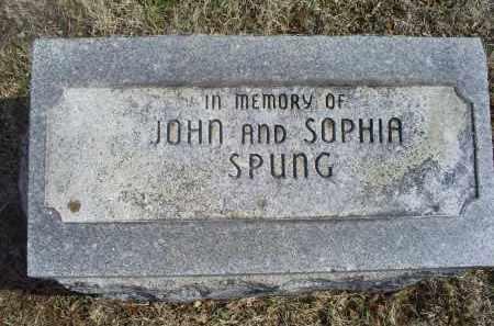 SPUNG, SOPHIA - Ross County, Ohio   SOPHIA SPUNG - Ohio Gravestone Photos