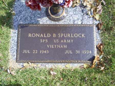 SPURLOCK, RONALD B - Ross County, Ohio   RONALD B SPURLOCK - Ohio Gravestone Photos
