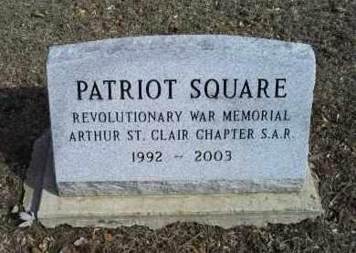 SQUARE, PATRIOT - Ross County, Ohio | PATRIOT SQUARE - Ohio Gravestone Photos