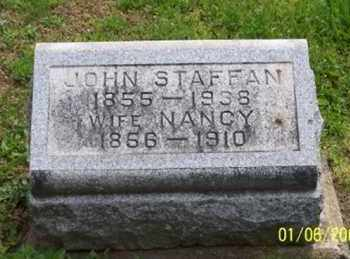 STAFFAN, JOHN - Ross County, Ohio | JOHN STAFFAN - Ohio Gravestone Photos